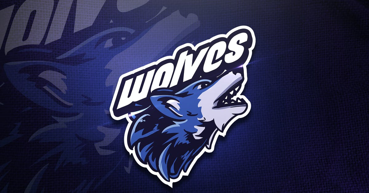 Wolves - Mascot & Esport Logo by aqrstudio
