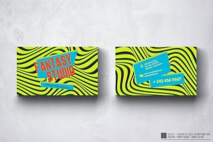 Fantasy Studio Business Card Design