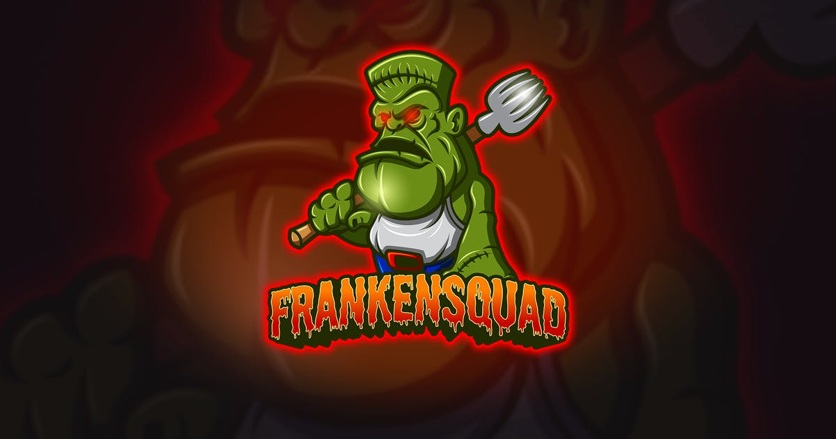 Download Frankenstain - Mascot & Esport Logo by aqrstudio