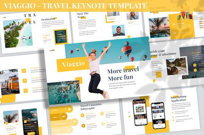 Thumbnail for Viaggio - Travel Keynote Template