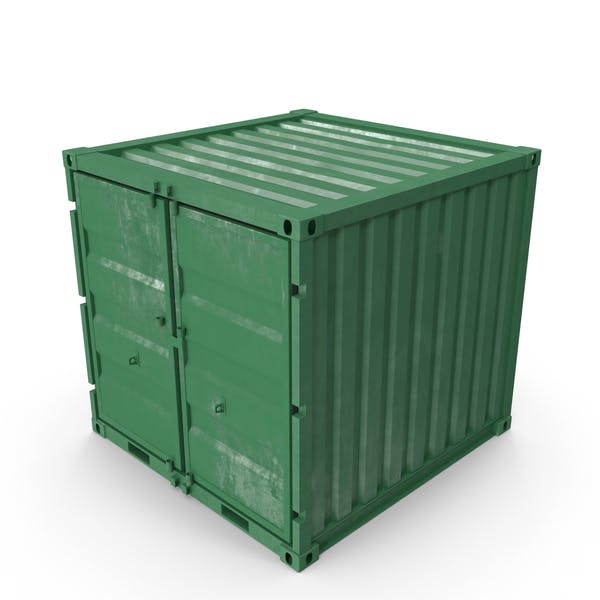 8 ft Storage Container Green