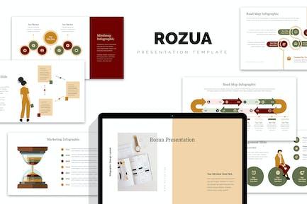 Rozua: Infografía Vector Business Google Presentaciones