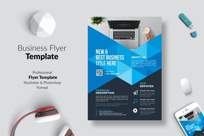 Thumbnail for Business Flyer Template 04