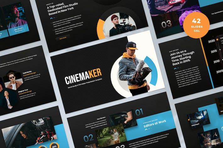Film & Video Production Slides Template