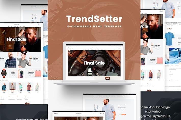 Thumbnail for Trendsetter - e-Commerce HTML template