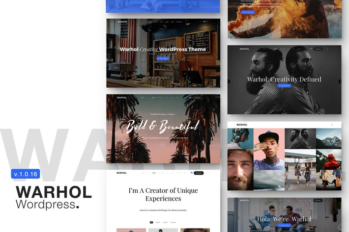 Thumbnail for Warhol - Responsive Multipurpose WordPress