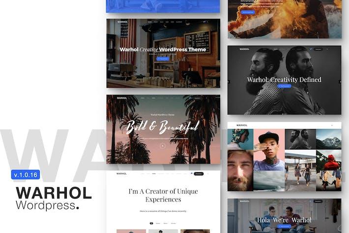 Thumbnail for Warhol - Responsive Multipurpose WordPress