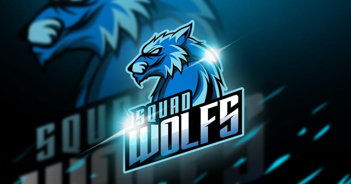Download wolfs - Mascot & Esport Logo by aqrstudio