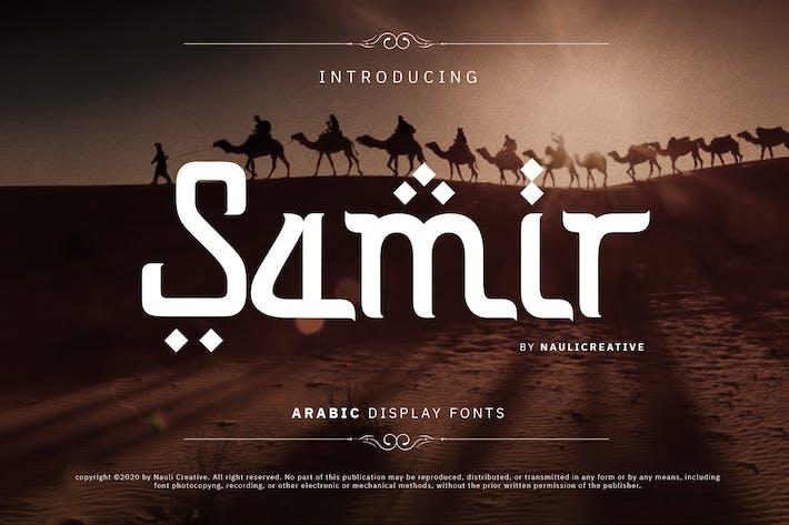 Thumbnail for Samir - Elegant Arabic Style Font