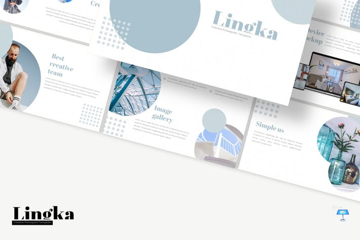 Thumbnail for Lingka - Keynote Template