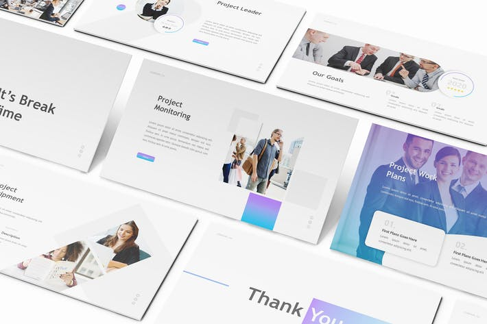 Thumbnail for Project Proposal Keynote Template