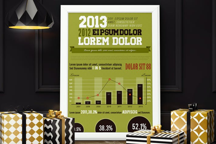 Thumbnail for Professional Infographics Template