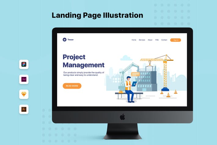 Thumbnail for Project Management - Construction Web Header