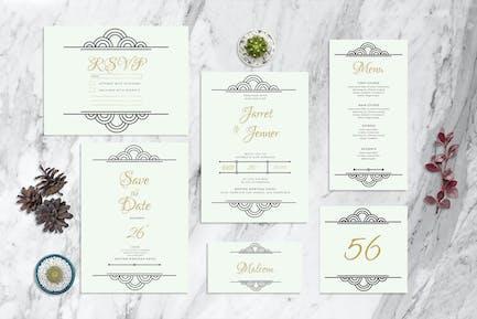 Deco Round - Invitation de mariage