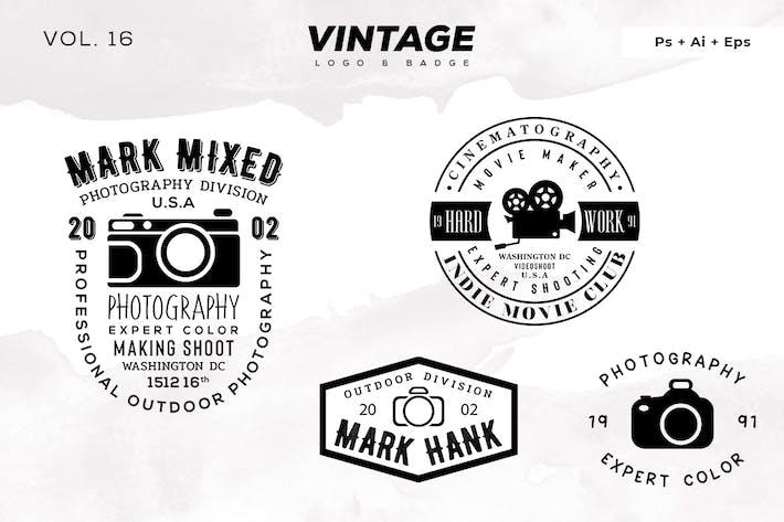 Thumbnail for Vintage Logo & Badge Vol. 16