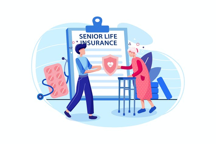 Thumbnail for Senior Life Insurance Konzept