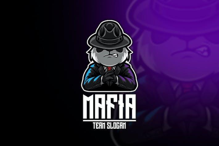 Panda Mafia Esport Logo Template