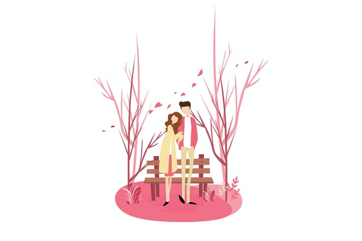Valentinstag Rosa - Abbildung AS