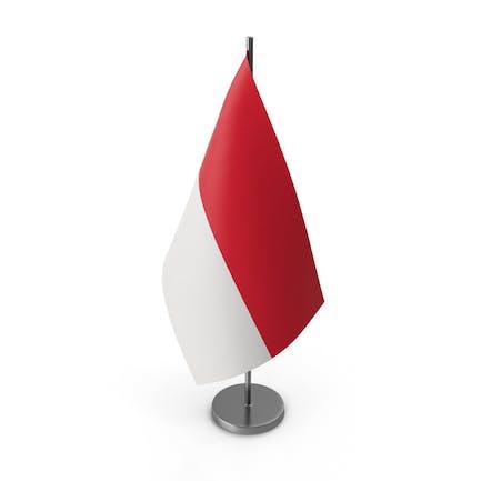 Tischfahne Indonesien