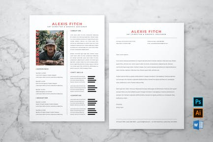 Professional Resume & Cover Letter #5
