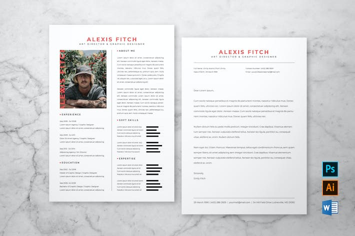 Thumbnail for Professional Resume & Cover Letter #5