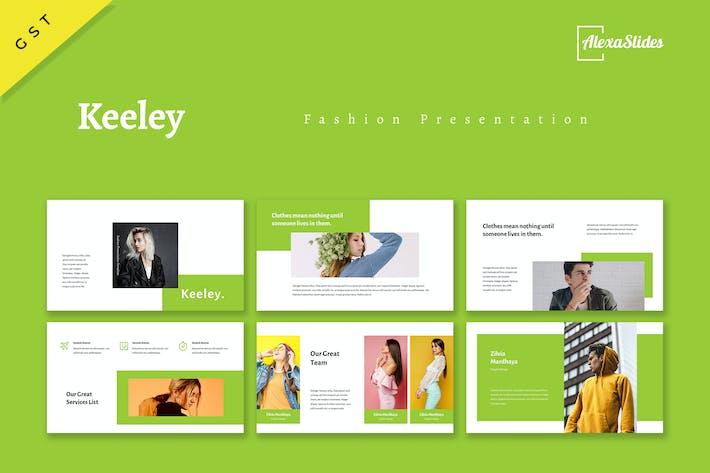 Thumbnail for Keeley - Fashion Google Slides Template