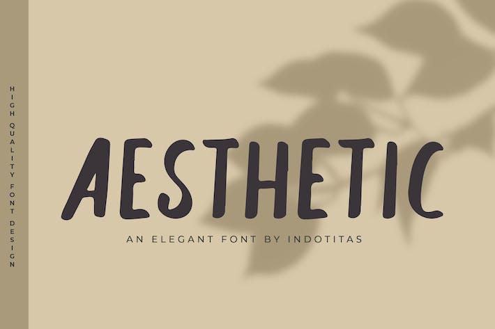 Thumbnail for Fonte Estética