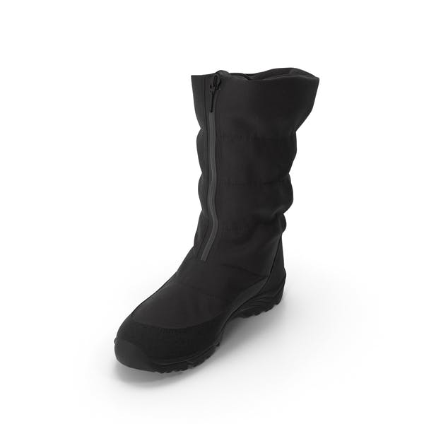 Women's Winter Boots Black