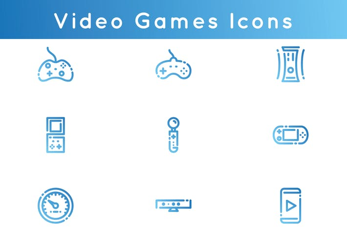 Thumbnail for Video Games Icons