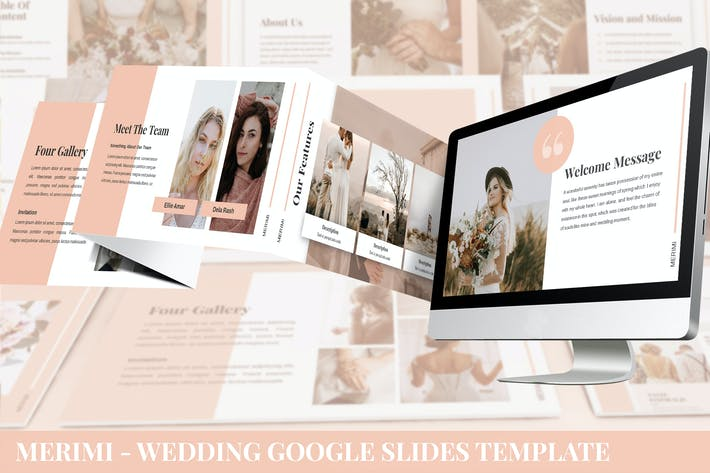 Thumbnail for Merimi - Wedding Google Slides Template
