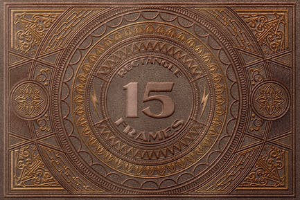 15 Rectangle & Ornamental Frames