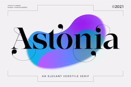 Astonia Typeface