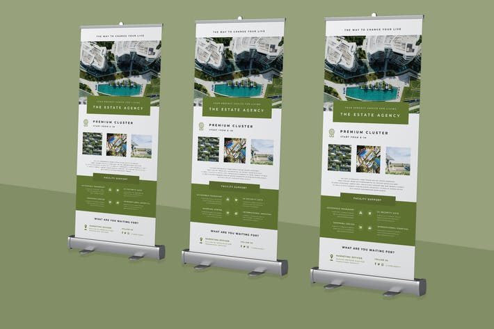 Thumbnail for Roll-up Banner Property Promotion