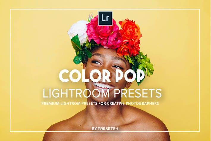 Цветовые пресеты Поп Lightroom