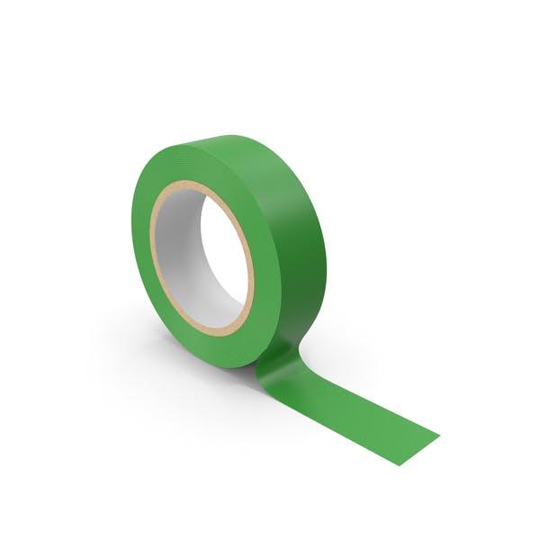 Зеленая маскировочная лента