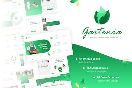 Gartenia - Gardening PowerPoint Template