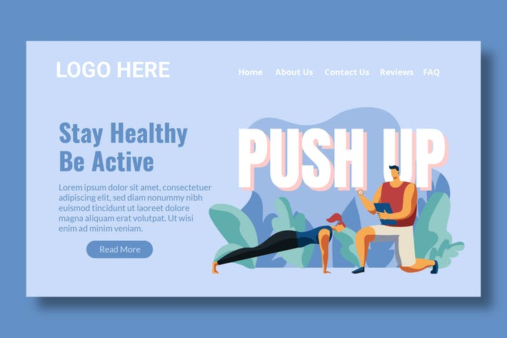 Thumbnail for Workout - Landing Page
