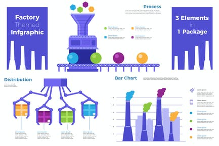 Factory - Infographic