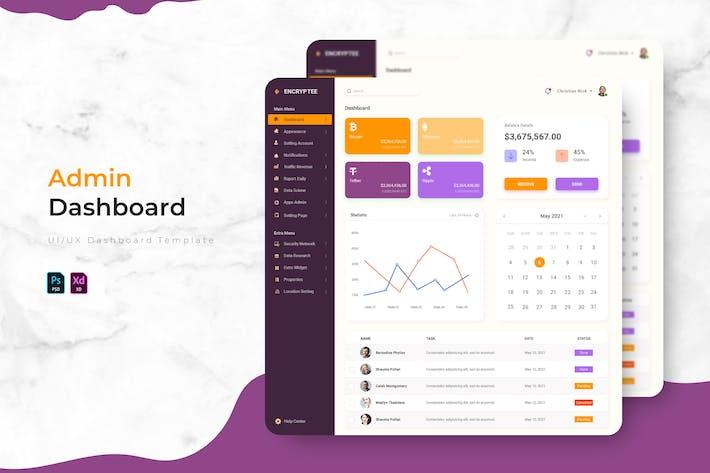 Encryptee | Admin Dashboard Template