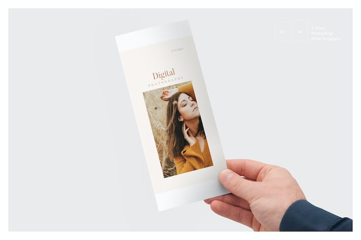 Thumbnail for Photography Trifold Brochures
