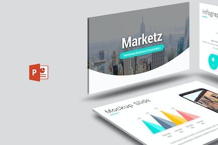Marketz - Powerpoint Template