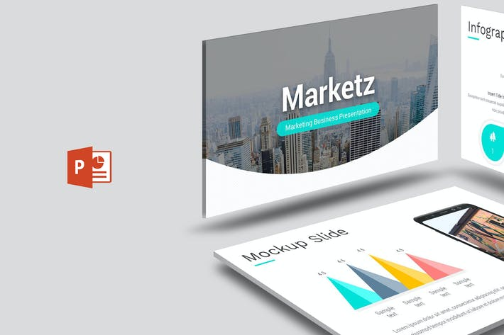 Thumbnail for Marketz - Powerpoint Template