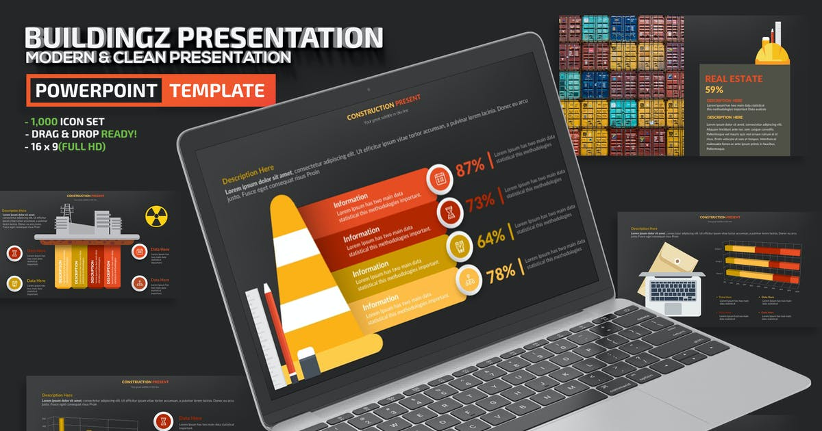Download Buildingz Powerpoint Presentation by mamanamsai
