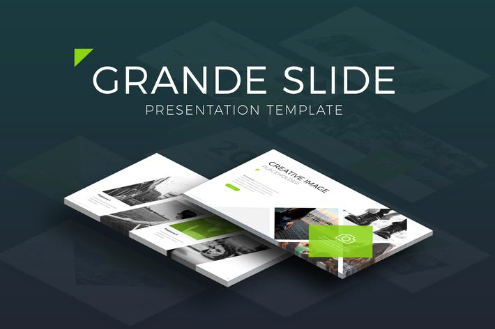 Thumbnail for Grande Slide Presentation Template