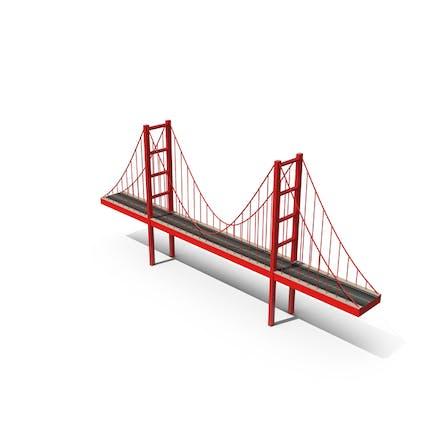 Cartoon-Brücke