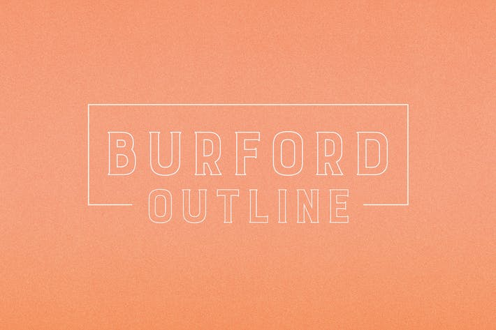 Cover Image For Burford Outline