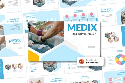 MEDIX - Medical PowerPoint Template