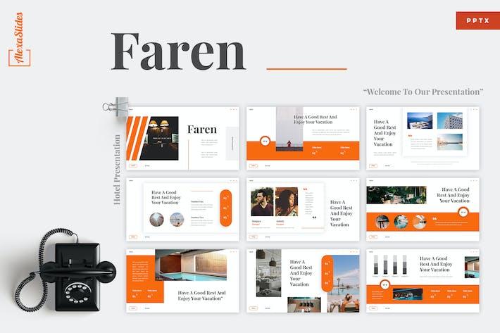 Thumbnail for Faren - Hotel Powerpoint Presentation Template