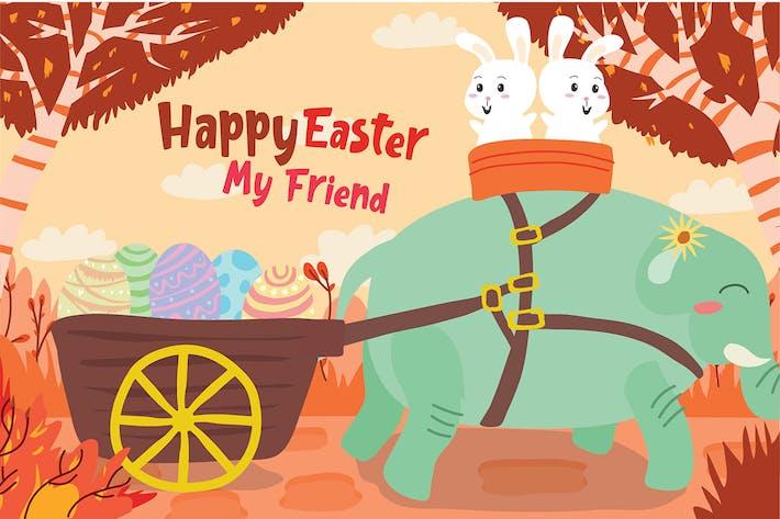 Thumbnail for Easter - Vector Illustration