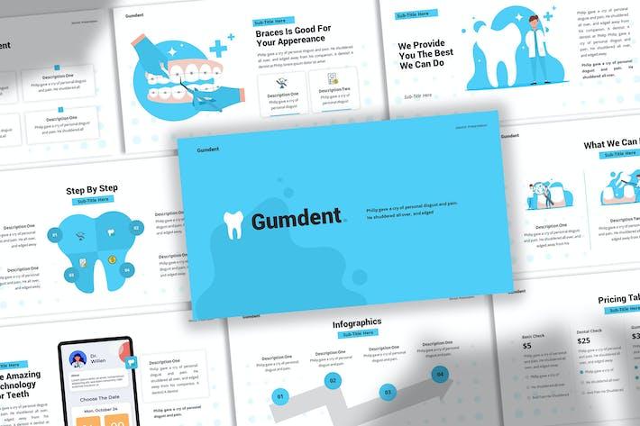 Gumdent - Dentist Keynote Template
